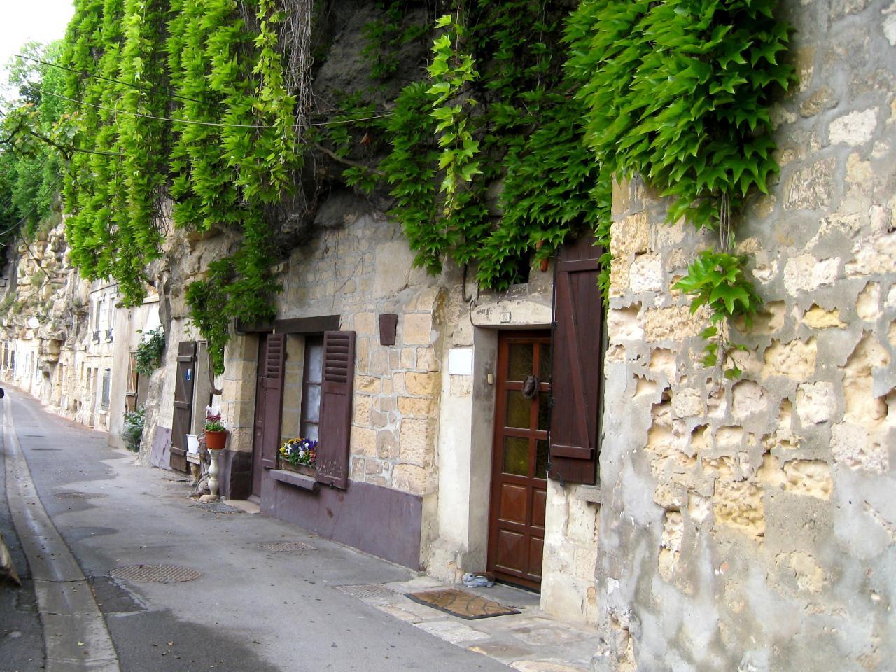 Maison troglodyte à Gouvieux